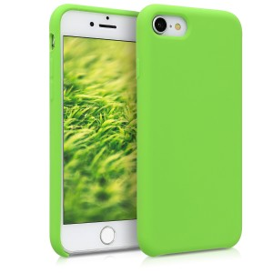 KW TPU Θήκη Σιλικόνης Apple iPhone 7 / 8 - Soft Flexible Rubber Protective Cover - Green