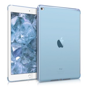 KW Θήκη Σιλικόνης Apple iPad Air 2 - Blue / Transparent