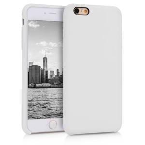 KW TPU Θήκη Σιλικόνης Apple iPhone 6 Plus / 6S Plus - Soft Flexible Rubber Protective Cover - White