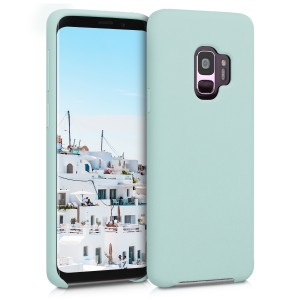KW Θήκη Σιλικόνης Samsung Galaxy S9 - Soft Flexible Rubber Protective Cover - Mint Matte