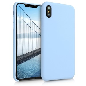 KW TPU Θήκη Σιλικόνης Apple iPhone XS Max - Soft Flexible Rubber Protective Cover - Light Blue