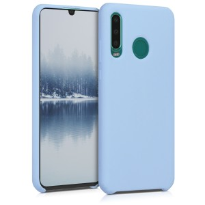 KW TPU Θήκη Σιλικόνης - Huawei P30 Lite - Soft Flexible Rubber Protective Cover - Light Blue Matte