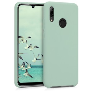 KW Θήκη Σιλικόνης Huawei P Smart (2019) - Soft Flexible Rubber - Mint Matte