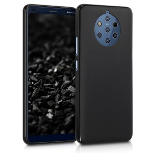 KW Θήκη Σιλικόνης Nokia 9 Pure View - Soft Flexible Shock Absorbent  - Black Matte