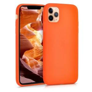 KW Θήκη Σιλικόνης Apple iPhone 11 Pro Max - Neon Orange