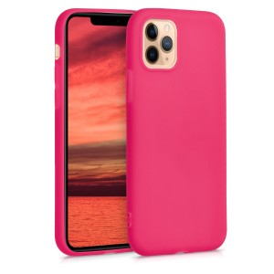 KW Θήκη Σιλικόνης Apple iPhone 11 Pro Max - Neon Pink