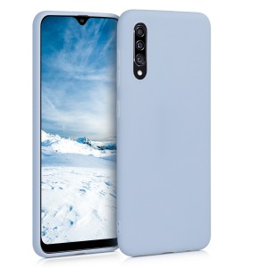KW Θήκη Σιλικόνης Samsung Galaxy A30s - Light Blue Matte