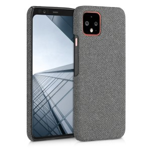 KW Σκληρή Θήκη Canvas Google Pixel 4 - Dark Grey