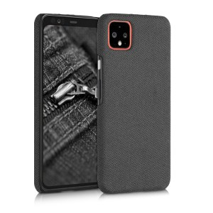KW Σκληρή Θήκη Canvas Google Pixel 4 XL - Black