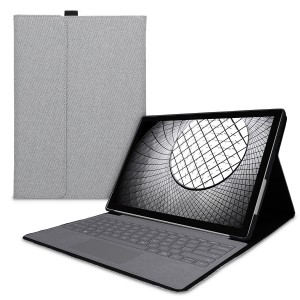 KW Θήκη Flip Microsoft Surface Pro 7 - Built-In Stand and Compatible with Type Cover Keyboard - Grey