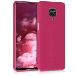 KW Θήκη Σιλικόνης Xiaomi Redmi Note 9S / 9 Pro / 9 Pro Max - Pomegranate Red