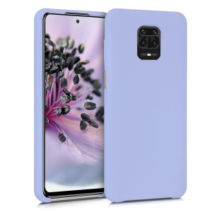 KW Θήκη Σιλικόνης Xiaomi Redmi Note 9S / 9 Pro / 9 Pro Max - Soft Flexible Rubber Protective Cover - Lavender