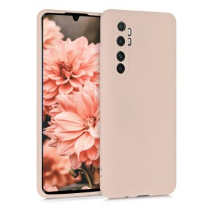 KWmobile Θήκη Σιλικόνης Xiaomi Mi Note 10 Lite - Mother Of Pearl