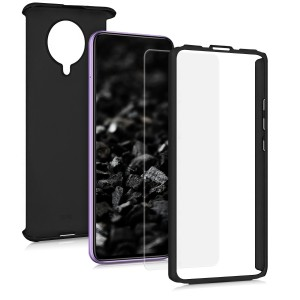 KW Θήκη Full Body Xiaomi Poco F2 Pro & Tempered Glass - Metallic Black