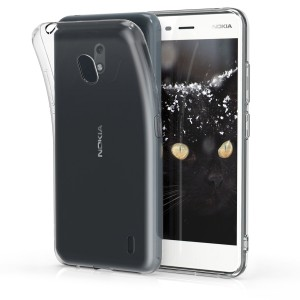 KW Θήκη Σιλικόνης Nokia 2.2 - Soft Flexible TPU Silicone - Transparent