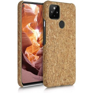KWmobile Σκληρή Θήκη Google Pixel 4a 5G - Light Brown Cork