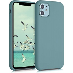 KWmobile Θήκη Σιλικόνης Apple iPhone 11 - Soft Flexible Rubber Cover - Arctic Blue