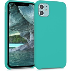 KWmobile Θήκη Σιλικόνης Apple iPhone 11 - Soft Flexible Rubber Cover - Turquoise