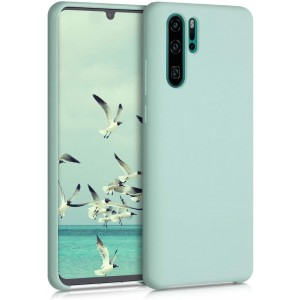 KWmobile Θήκη Σιλικόνης Huawei P30 Pro - Soft Flexible Rubber Cover - Mint