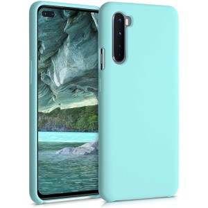 KWmobile Θήκη Σιλικόνης OnePlus Nord - Soft Flexible Rubber Cover - Mint