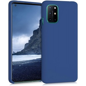 KWmobile Θήκη Σιλικόνης OnePlus 8T - Soft Flexible Rubber Cover - Navy Blue