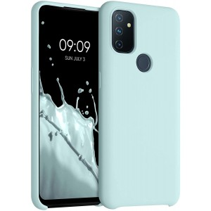 KWmobile Θήκη Σιλικόνης OnePlus Nord N100 - Soft Flexible Rubber Cover - Frosty Mint