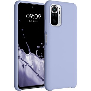 KWmobile Θήκη Σιλικόνης Xiaomi Redmi Note 10 / Note 10S - Soft Flexible Rubber Cover - Light Lavender
