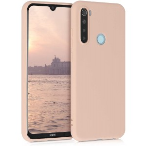 KWmobile Θήκη Σιλικόνης Xiaomi Redmi Note 8 - Mother Of Pearl