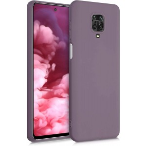 KWmobile Θήκη Σιλικόνης Xiaomi Redmi Note 9S / 9 Pro / 9 Pro Max - Grape Purple