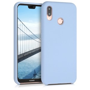 KW Θήκη Σιλικόνης Huawei P20 Lite - Light Blue Matte