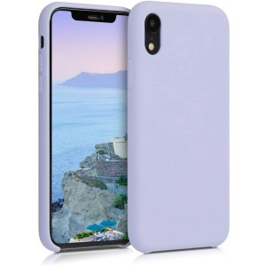 KW Θήκη Σιλικόνης iPhone XR - Soft Flexible Rubber Protective Cover - Light Lavender