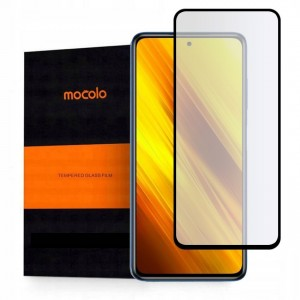 Mocolo TG+ Full Glue Tempered Glass - Fullface Αντιχαρακτικό Γυαλί Xiaomi Poco F3 X3 NFC - Black