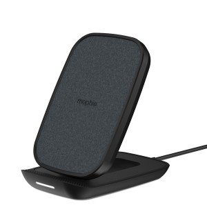 Mophie Wireless Charging Stand Σταθμός ασύρματης φόρτισης Quickcharge 10W – Ultrasuede / Black