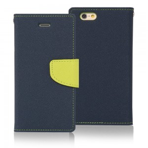Fancy Diary Θήκη Samsung Galaxy J7 (2016) Navy Lime