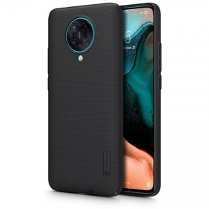Nillkin Θήκη Super Frosted Shield Xiaomi Poco F2 Pro & Kickstand - Black