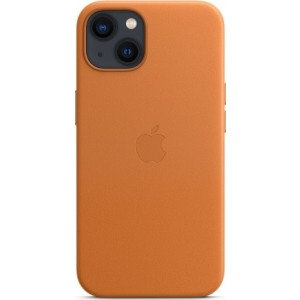 Official Apple Leather Case - Δερμάτινη Θήκη με MagSafe Apple iPhone 13 - Golden Brown