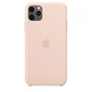 Apple Official Silicon Cover - Θήκη Σιλικόνης iPhone 11 Pro Max - Pink Sand