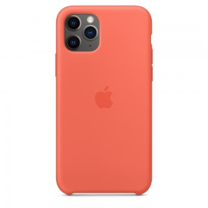Official Apple Silicon Cover - Θήκη Σιλικόνης iPhone 11 Pro - Clementine