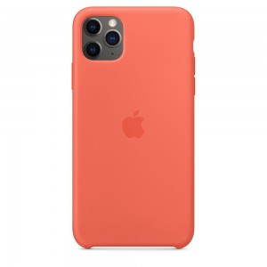 Official Apple Silicon Cover - Θήκη Σιλικόνης iPhone 11 Pro Max - Clementine