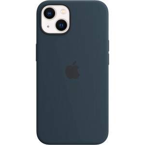 Official Apple Θήκη Σιλικόνης με MagSafe Apple iPhone 13 - Abyss Blue