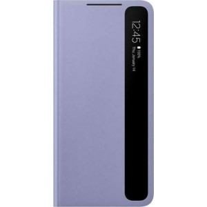Official Samsung Clear View Cover - Θήκη Flip με Ενεργό Πορτάκι Samsung Galaxy S21 Plus 5G - Violet