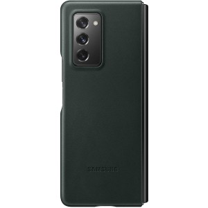 Official Samsung Leather Cover - Δερμάτινη Θήκη Samsung Galaxy Z Fold2 - Green
