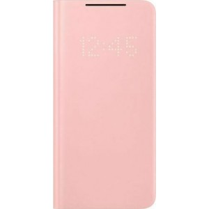 Official Samsung LED View Cover Θήκη Samsung Galaxy S21 5G - Pink