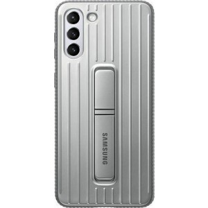 Official Samsung Protective Standing Cover - Θήκη Samsung Galaxy S21 Plus 5G - Light Gray