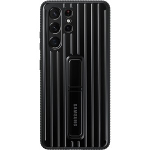 Official Samsung Protective Standing Cover - Θήκη Samsung Galaxy S21 Ultra 5G - Black