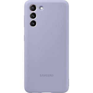 Official Samsung Silicone Cover Θήκη Σιλικόνης Samung Galaxy S21 5G - Violet