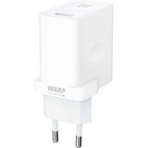 OnePlus Warp Charger 30W Power Adapter - White