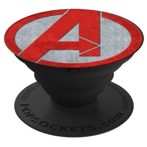 PopSocket The Avengers Icon - Red Grey Matte