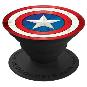 PopSocket Captain America Shield Icon - Multicolored Matte