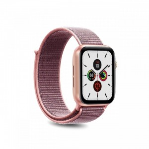 Puro Sport Band Nylon Λουράκι Apple Watch 5/4/3/2/1 (40/38mm) - Rose